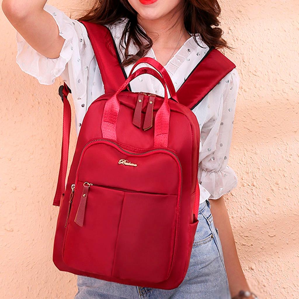 2019 New Women's Fashion Bag Large Capacity Computer Bag Student Backpack Shoulder Bag Mochilas Feminina Bagpack Mochila Mujer