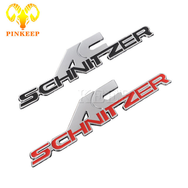 Auto Sticker Embleem Badge Auto Metal Decal Voor Bmw Ac Schnitzer M