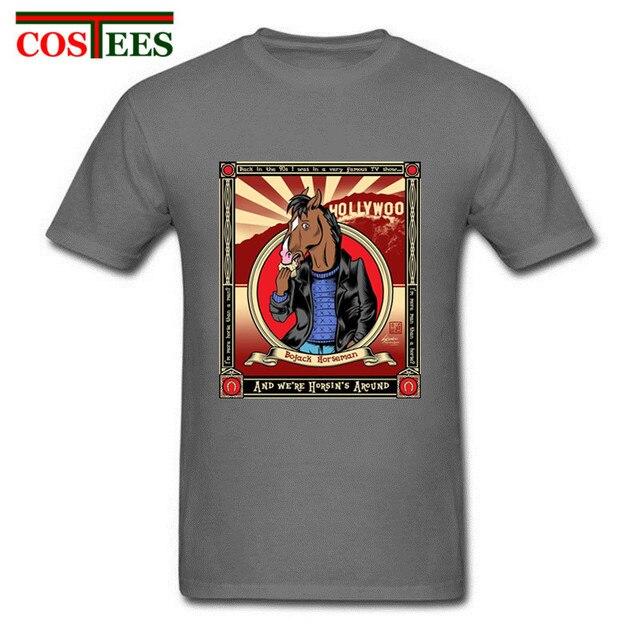 Vestidos verano 2018 Latest design Bojack Horseman T-shirt casaco masculino  brand clothing bojack horseman 90ef9edc901