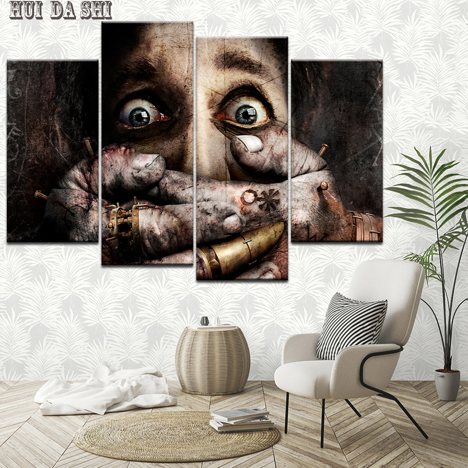 Terror Man Modular High Quality Pictures Print on Canvas Oil Painting for Living Room Decor Wall Art Customized Wholesale
