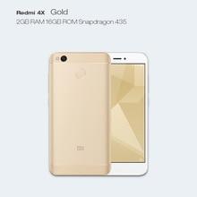 "Dreami Original Xiaomi Redmi 4X 4 X 2GB RAM 16GB ROM Miui 8 Mobile Phone Snapdragon 435 Octa Core 5.0"" 4100mAh(Hong Kong)"