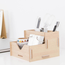 Wood Pen Holder Desk Organizer DIY