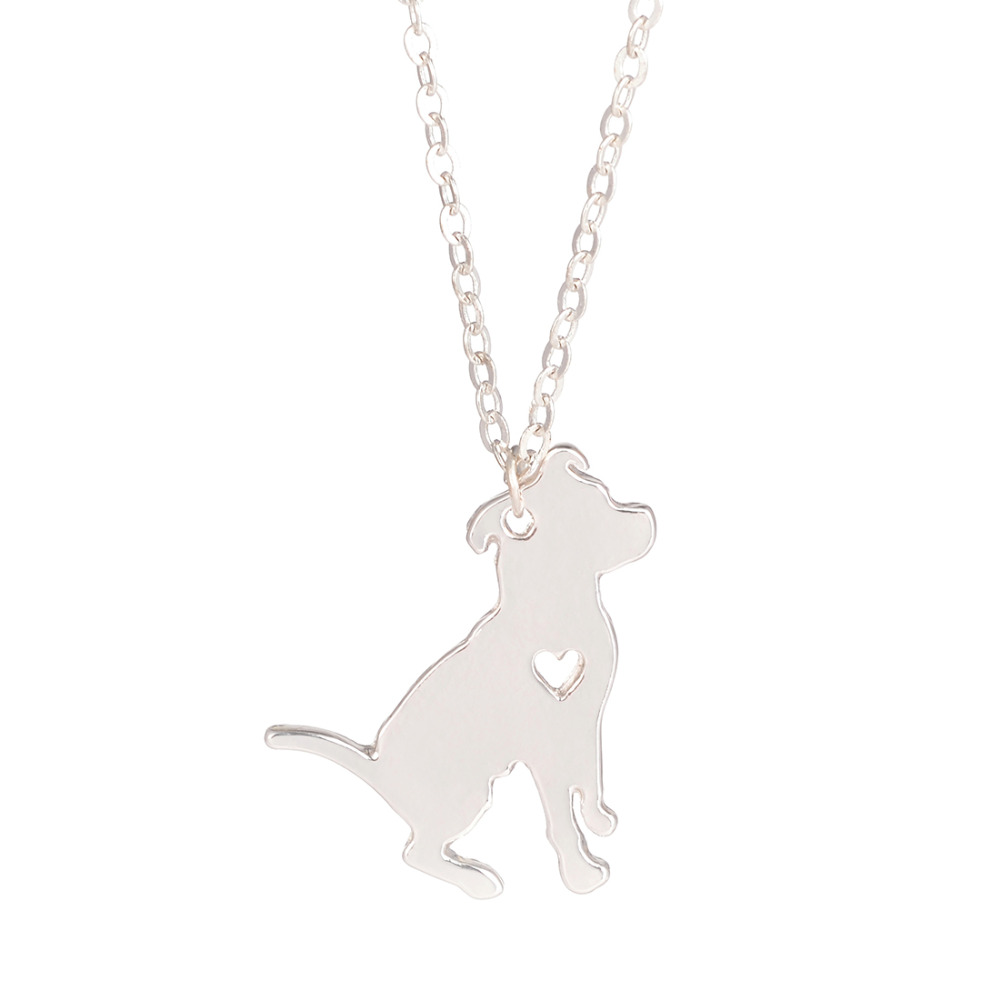 VENTA Collar de la Joyería de Encargo Del Perro Pitbull Pitbull Dog Collar Colga