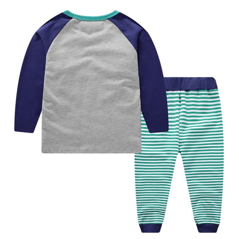 esporte para meninos camisola camisa calças 2 peças crianças conjunto