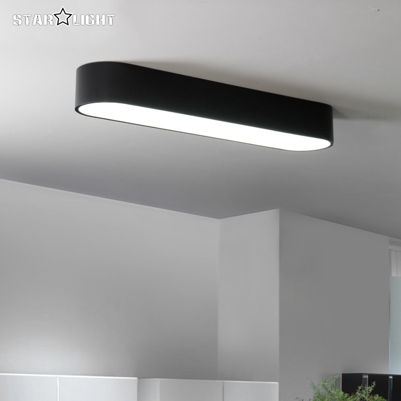 Attractive Simple Modern Ceiling Light Flush Mount Ceiling Light Black White Room Lamp  Plafon Led Home Ceiling