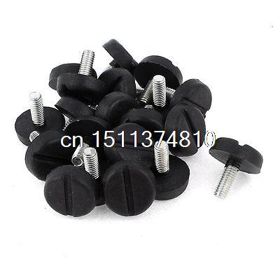 20 Pcs Screw On Type Furniture Glide Leveling Foot Adjuster 22mm Height thyssen parts leveling sensor yg 39g1k door zone switch leveling photoelectric sensors