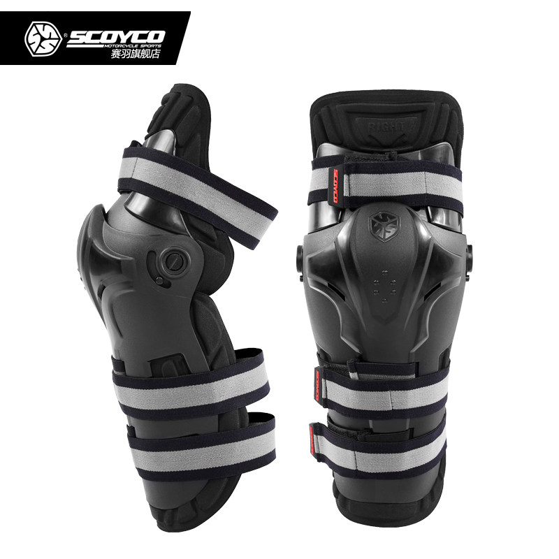 Scoyco Motorcycle kneepads Racing Brace Moto knee pads Racing Guards Motocross protector Sports Scooter Protective Gear