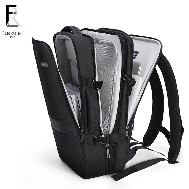 FENRUIEN nouveau 17 pouces sac à dos pour ordinateur portable hommes affaires étanche sac à dos USB chargement grand sac 15 décontracté voyage sac à dos Mochila