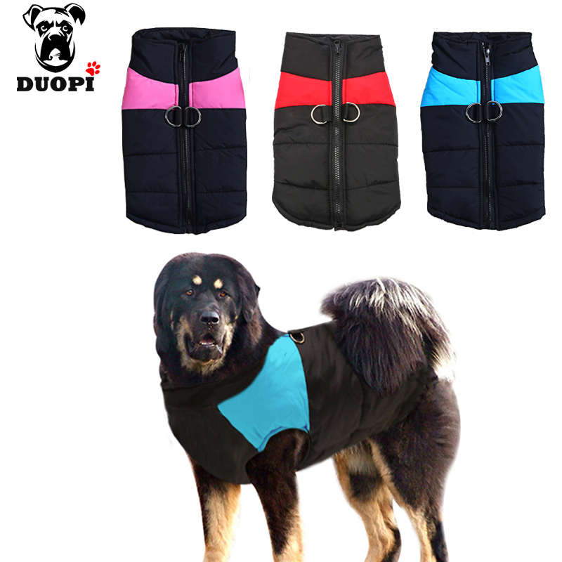 Dropshipping Pet Dog Clothes Winter Vest Puppy Waterproof Vest Warm Jacket Clothing For Small Medium Large Dogs 4 Colors S-5xl