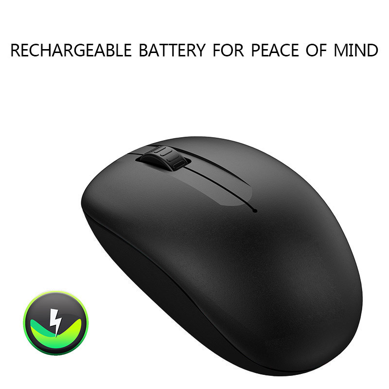Gentle Ergonomic 2.4g Mute Usb Wireless Mouse Office Travel Mice With Receiver For Laptop Pc Xr649 Excellent In Cushion Effect