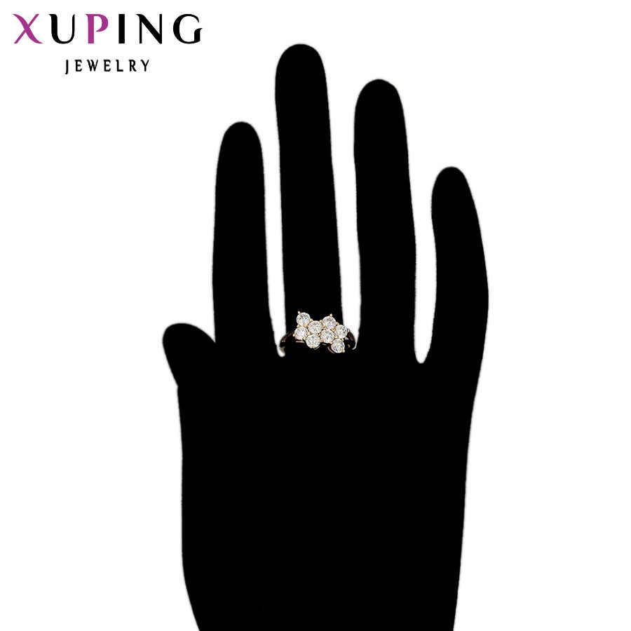 11,11 Xuping роскошное кольцо специальный дизайн Высокое качество для женщин позолоченное ювелирное изделие вечерние или рождественские подарки 11884