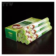 20pcs/Box Coconut Incense Sticks India Smoke Home Scent Diffuser Aromatic Indoor Oud Spices Incent Sage Fragrance