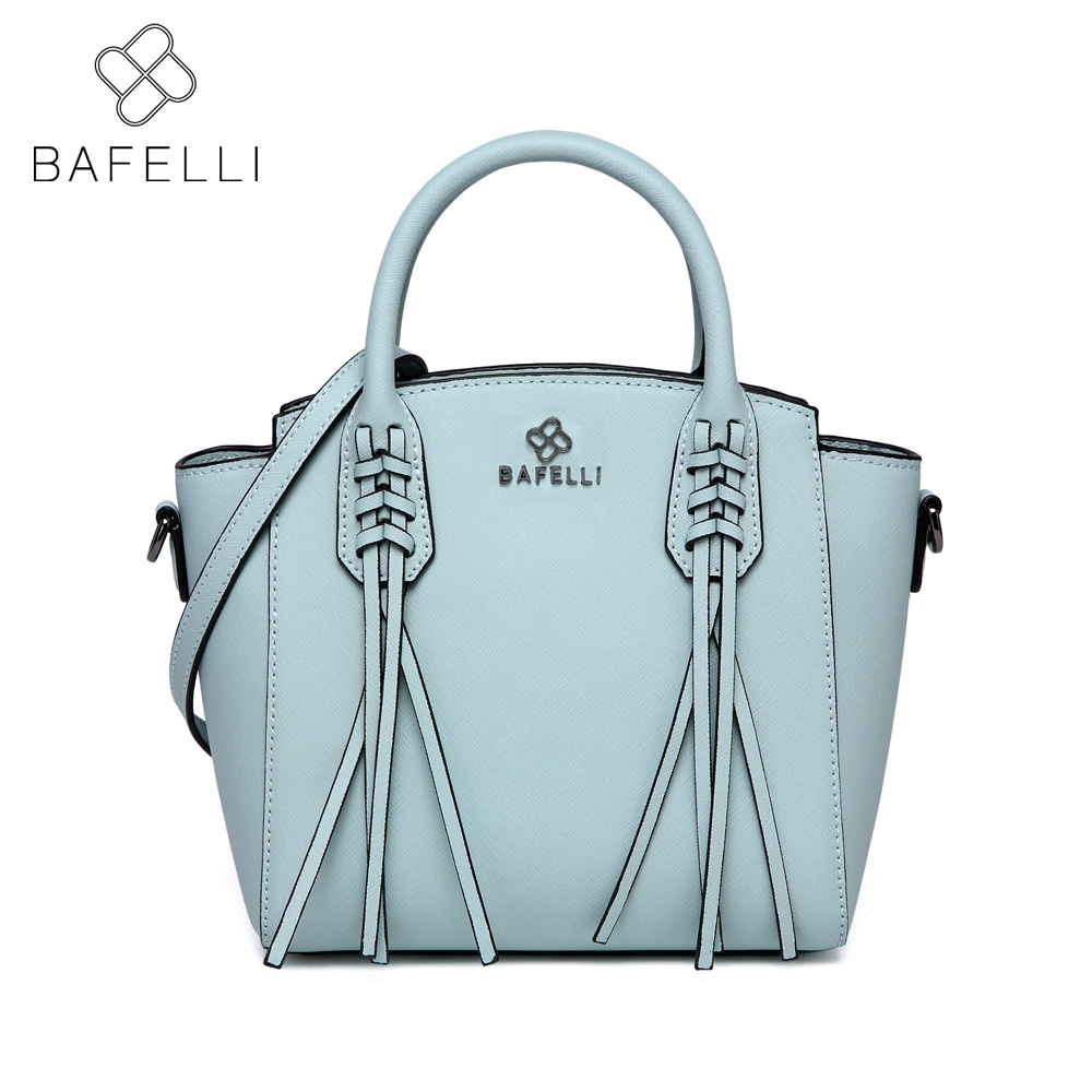 BAFELLI Large capacity tote shoulder bag fashion tassel luxury handbag hot sale bolsa feminina women messenger bag