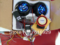 Mais legal de totalmente funcional modelo de moto à prova d ' água / sujeira / MX alarme alarme de segurança / áudio anexado MP3