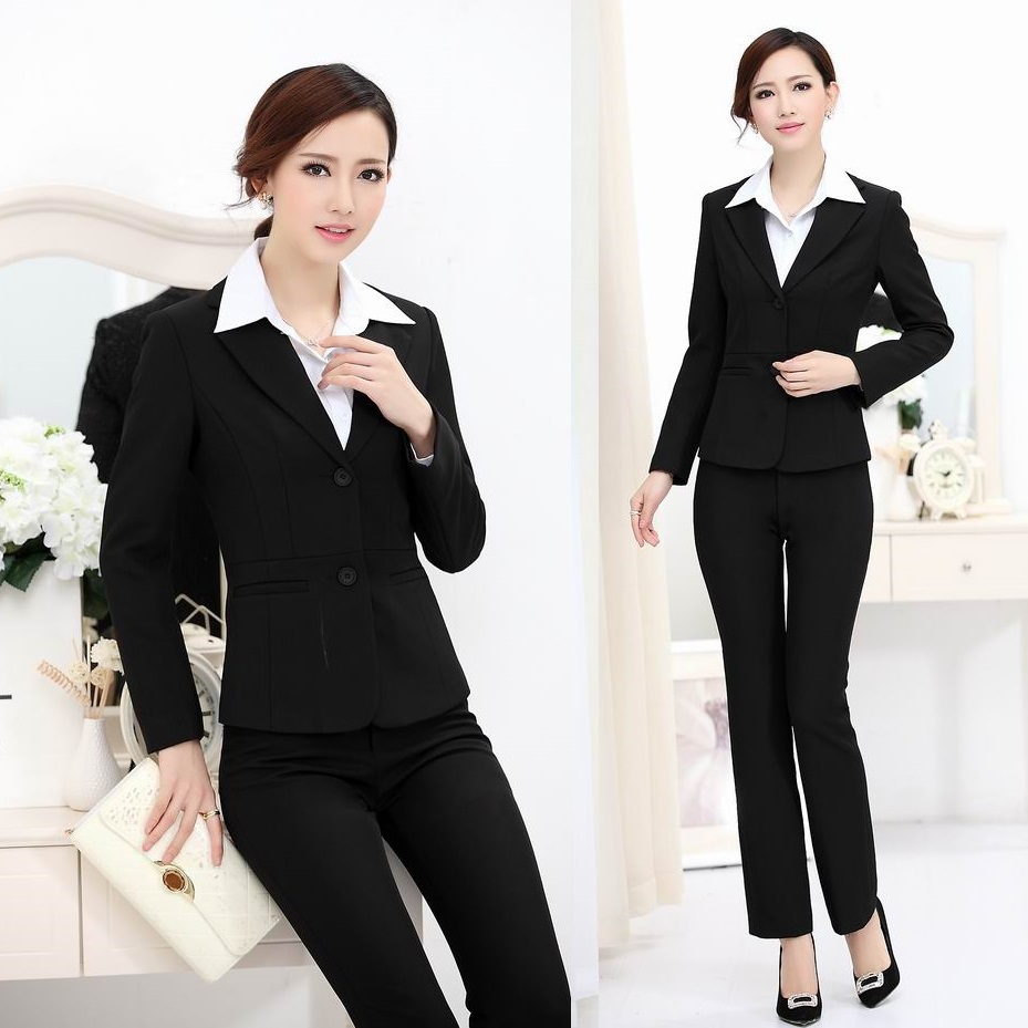 buy new 2017 autumn pantsuit women