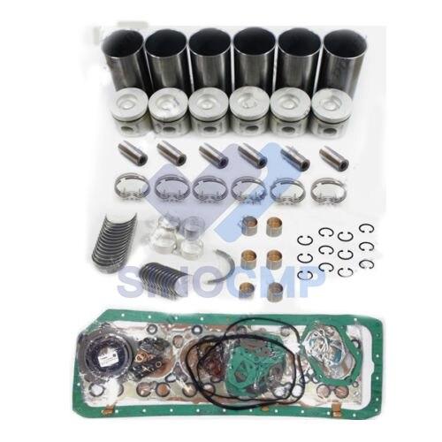 6HH1 8.2L silnik wysokoprężny zestaw do przebudowy do 96-03 FSR700 FSR33 FSS33 FVR900 FVR950 FVR33 samochodów ciężarowych