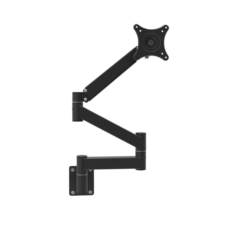 hyvarwey lg308 support de moniteur a bras ultra long 13 21 ecran lcd tv montage mural bras mecanique allonge support etageres
