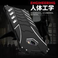 R JUST Heavy Dust Metal Armor Aluminum Case For Samsung C9 Pro Fundas Coque Housing Cover