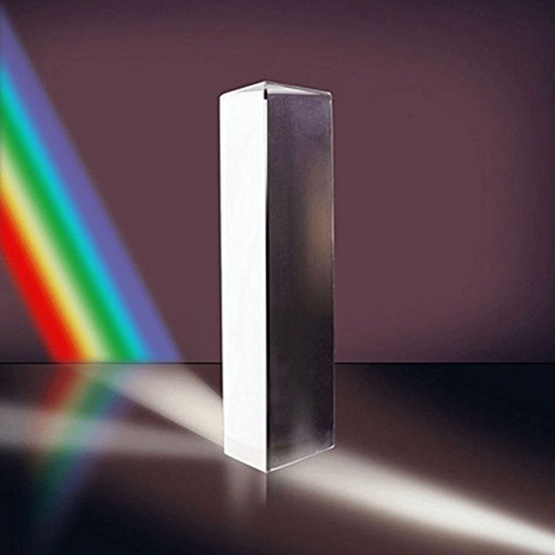 Triangular Light cube combination prism Triangular color prism K9 Optical Glass Right Angle Reflecting 3 size