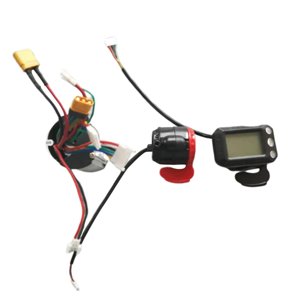 Image 3 - 24V 250W Electric Scooter Controller Brushless Motor with Waterproof LCD Display for Electric Bicycle Scooter Parts Accessories-in Scooter Parts & Accessories from Sports & Entertainment