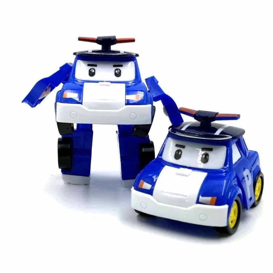 6 stili giocattoli per bambini coreani Robocar Poli trasformazione Robot Poli ambra Roy giocattoli per auto Action Figure giocattoli per bambini migliori regali