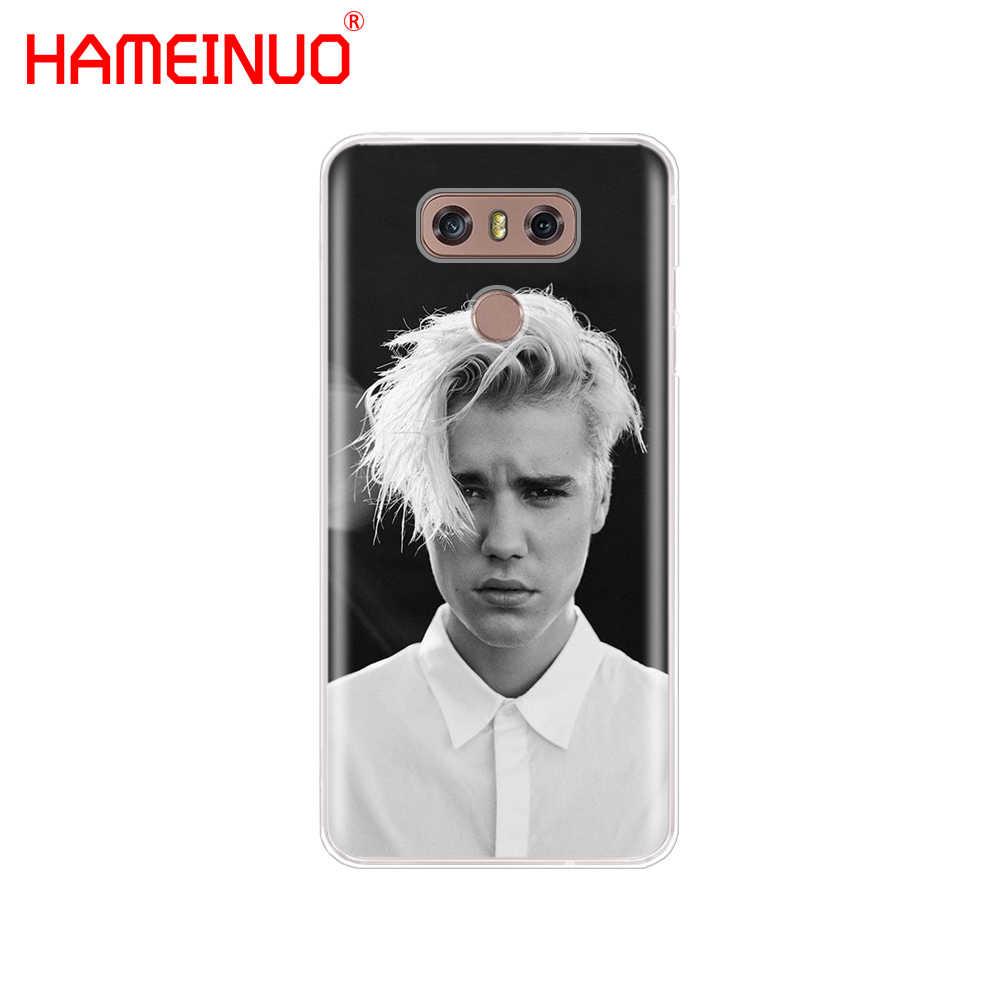 Hameinuoファッションジャスティンビーバースーパースターケース電話カバーlg g7 q6 g6ミニg5 k10 k4 k8 2017 2016 x電源2 v20 v30 2018