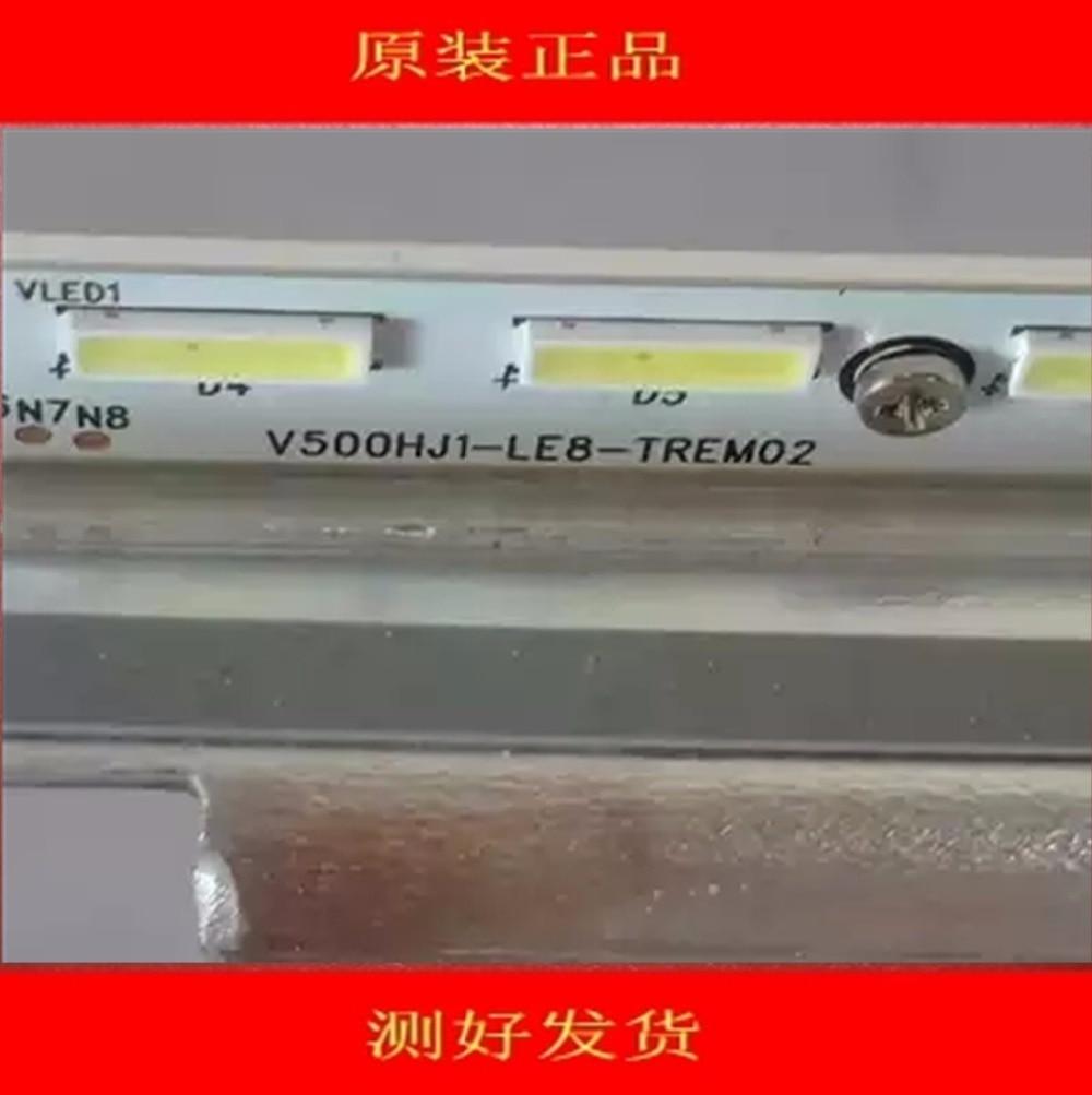 620mm LED Backlight Lamp Strip 56leds For Sharp 50 Inch LCD TV LCD-50V3A V500HJ1-LE8-TREM02 V500HJ1-LE8   1piece=56led   620mm
