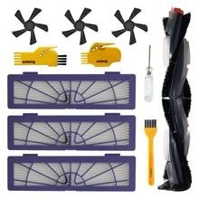 Kit acessórios para Neato Botvac D Série Robot Vacuum Cleaner D3 D5 D75 D80 D85 Peças de Reposição