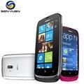 """Оригинальный Nokia Lumia 610 WI-FI GPS 8 ГБ ROM 5MP Камера 3.7 """"Сенсорный экран 3 Г Windows phone Бесплатная Доставка"""