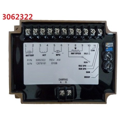 купить Generator Speed Controller 3062322 speed stabilizer electric govornor diesel engine control circuit board module genset part по цене 3933.66 рублей