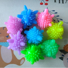 Многоразовый волшебный шарик для стирки белья для бытовой уборки стиральный шар машина для умягчения одежды в форме морской звезды твердые шарики для чистки