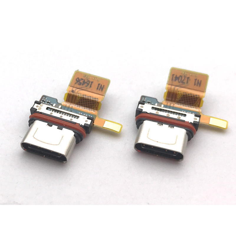 New For Sony Xperia X Compact F5321 Mic Dock Connector Board USB Charging Port Flex Cable Replacement Parts