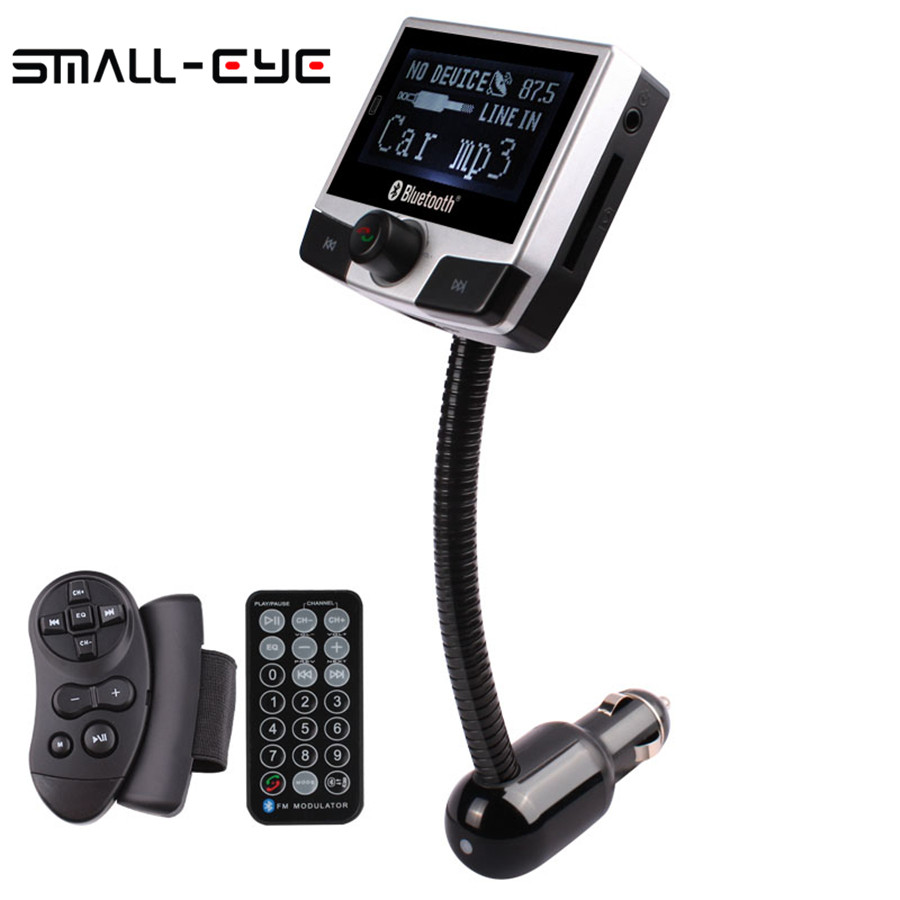 FM8112B Bluetooth Car Kit FM Wireless Transmitter Modulator Car MP3 Player 2.4
