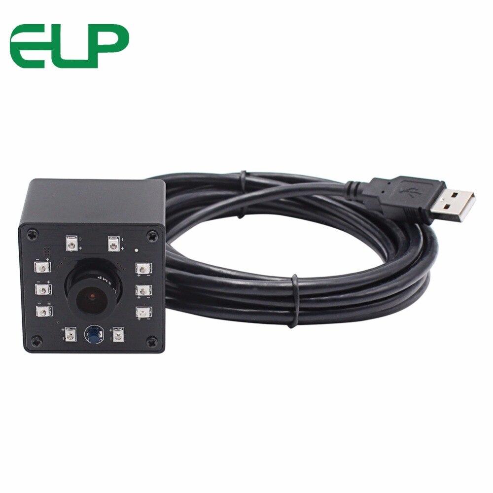 1080P Infrared Surveillance USB Webcam CMOS OV2710 MJPEG 120fps/60fps/30fps high frame rate USB Camera modue inside
