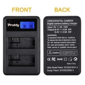 Image 5 - 2Pcs 1800mAh LP E8 LPE8 LP E8 Camera Battery Bateria Batterie AKKU + LCD USB Dual Charger For Canon EOS 550D 600D 650D 700D