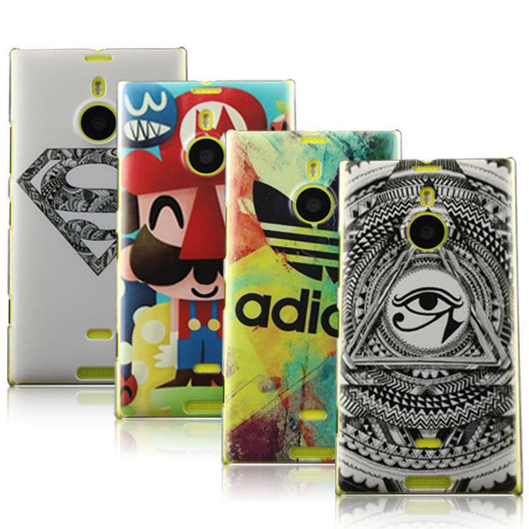 competitive price 37246 c619c US $9.99 |New 2014 Lumia 1520 Case Printed Painting Case Cover for Nokia  Lumia 1520 Cartoon Case for Nokia 1520 Cell Phone accessories on ...