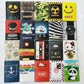 Шоколад удостоверение личности 3D дизайн пвх кожа визитная карточка сумка обложка для паспорта 14 * 9.6 см