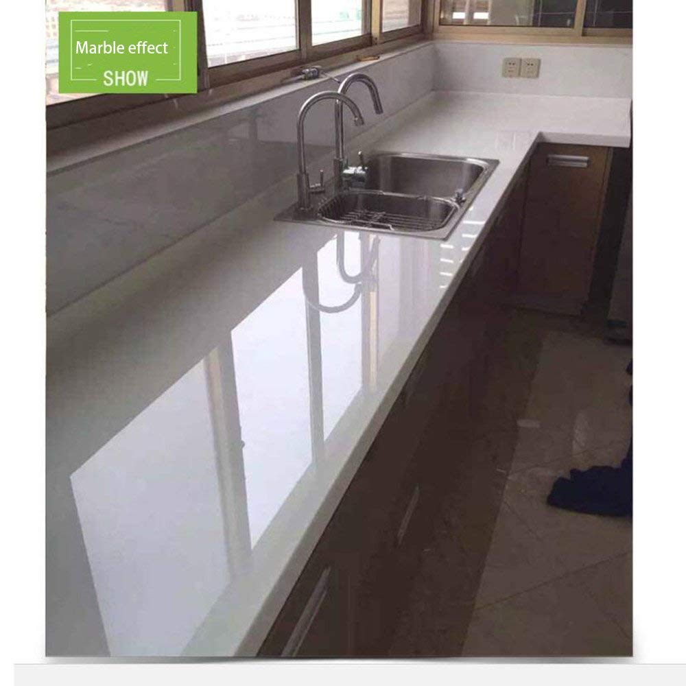 1x2m 2mi Transparent Glossy Scratch Protection Film Furniture Protective Sticker Anti Oil Home Kitchen Decoration Film