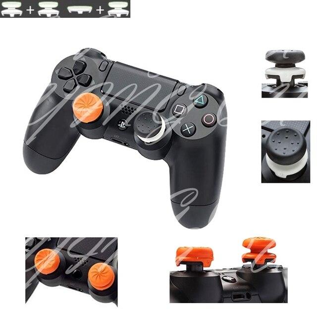 4 em 1 CQC FPS Aderência Analógico Thumbstick Thumb Sticks Estendida Extra Alta Joystick Caps Para Dualshock 4 PS4 Pro controlador fino