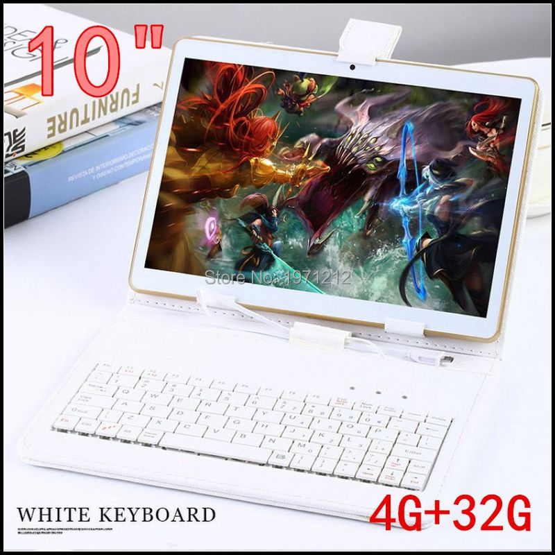 10 inch 3G 4G LTE tablet pc Octa core 1280*800 5.0MP 4GB 32GB Android 5.1 Bluetooth GPS tablet 10 with keyboard