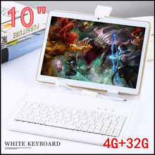 10 pouce 3G 4G LTE tablet pc Octa core 1280*800 5.0MP 4 GB 32 GB Android 5.1 Bluetooth GPS tablet 10 avec clavier