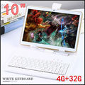 10 polegada 3G 4G LTE tablet pc Octa núcleo 1280*800 5.0MP 4 GB 32 GB Android 5.1 GPS Bluetooth tablet 10 com teclado
