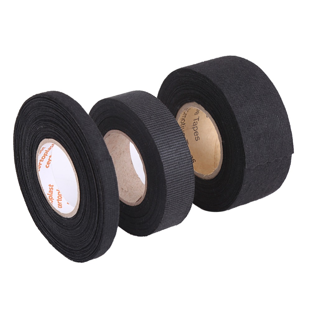 Wiring-Harness-Tape Rattle Self-Adhesive Multipurpose Felt Automotive Anti-Squeak Car title=