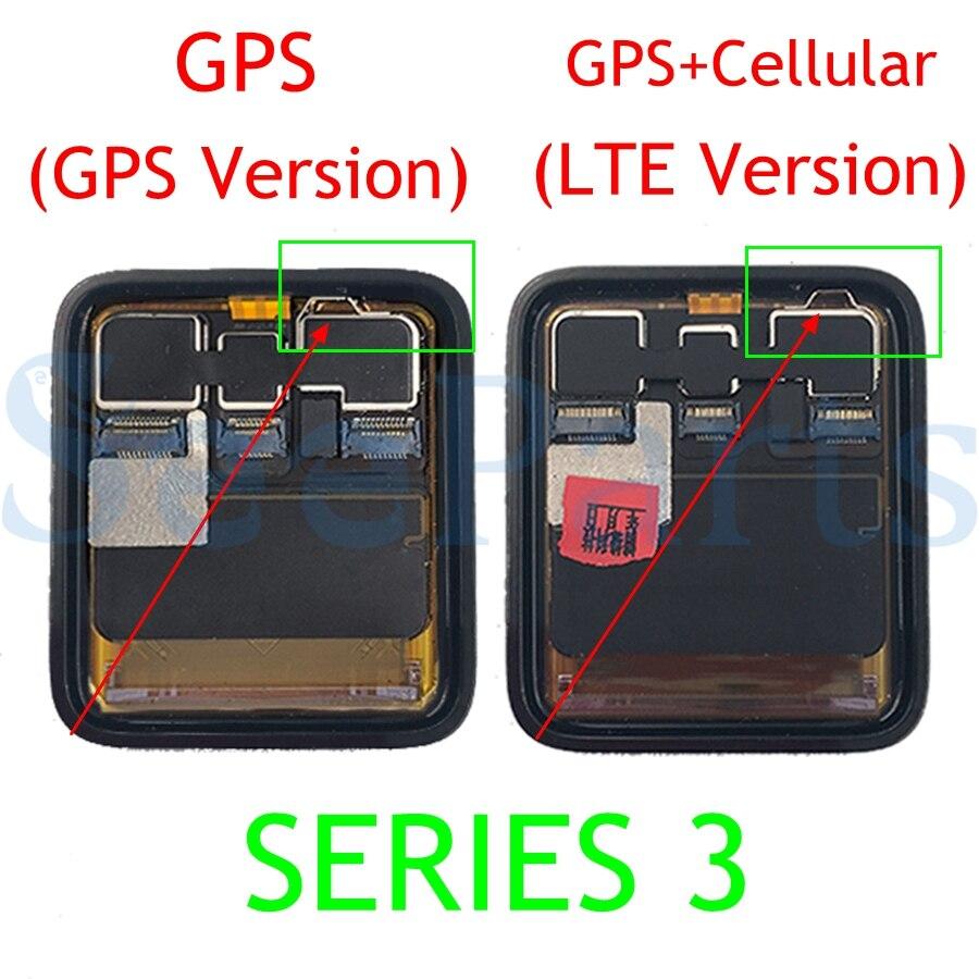 D'origine Pour Apple Montre Série 3 GPS écran Lcd numériseur à écran tactile Series3 S3 38mm/42mm Lcd Pantalla Remplacement + outils