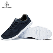 ФОТО spring summer lovers running sneakers shoes men breathable sports shoes comfortable super light weight for male big size 49 50