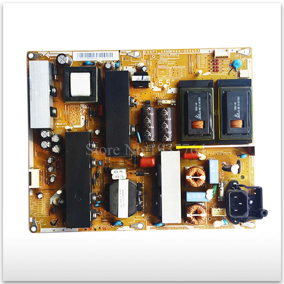 Original second-hand LA55C630K1F power supply board BN44-00342A I55F1-ASM power board ua32eh4000r ua32eh4080r bn44 00492a used power supply board second hand