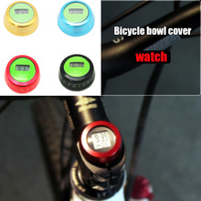 MTB Road Bike Bicycle Headset Stem Watch Computer Bike Vehicle Clock Cycling Head Parts Timepiece Headset Top Cap Stem Cover bike bicycle headset stem watch computer bike vehicle clock cycling head parts timepiece headset top cap stem cover for mtb road
