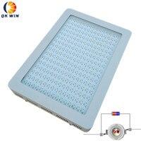 Qkwin светодиодный Гидропоника светать 2400 Вт с 10 Вт двойной чип светодиодный s на кнопку включения/выключения полный спектр для гидропоники ра