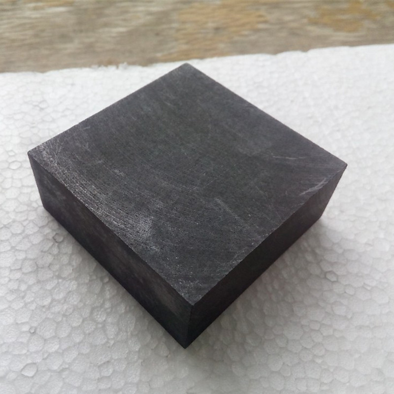 100x100x50mm 1 piece high purity high strength carbon graphite block plate for industry