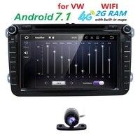 8 RAM 2G Car DVD For Volkswagen VW Golf 4 Golf 5 6 Touran Passat B6
